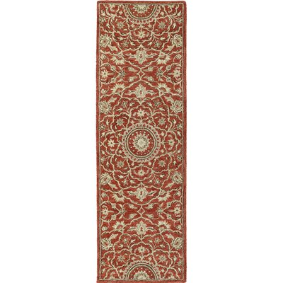 Chisolm Red Area Rug Rug Size: Runner 2'6