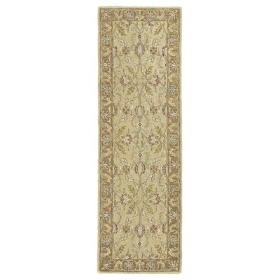 Chisolm Gold Area Rug Rug Size: Runner 26 x 8