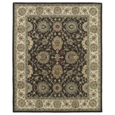Chisolm Brown/Tan Area Rug Rug Size: Rectangle 9 x 12