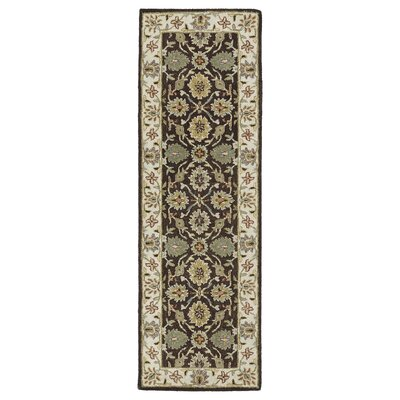 Chisolm Brown/Tan Area Rug Rug Size: Runner 26 x 8