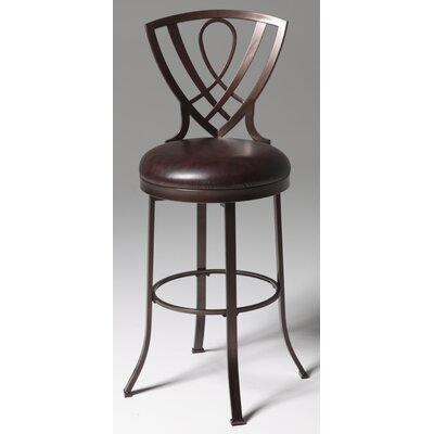 Claiborne 26 Swivel Bar Stool