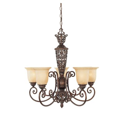 Claverack 5-Light Shaded Chandelier