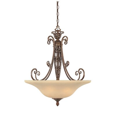 Claverack 3-Light Inverted Pendant