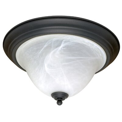 Claycomb 2-Light Flush Mount