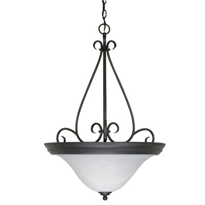 Claycomb 3-Light Inverted Pendant