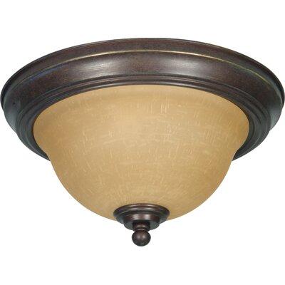 Claycomb Flush Mount Size: 7 H x 11.25 W x 11.25 D