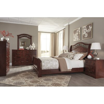Clevenger Sleigh Bed
