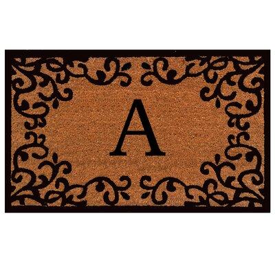 Britney Monogram Doormat