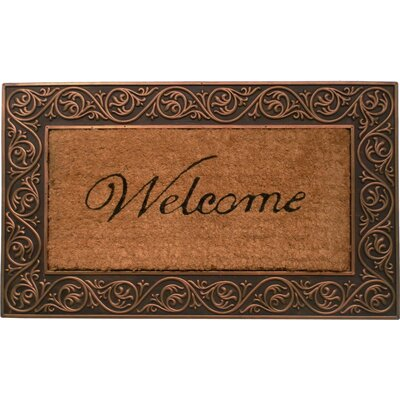 Reyna Welcome Doormat Color: Bronze