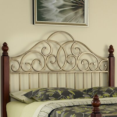 Brigitte Slat Headboard Size: King / California King