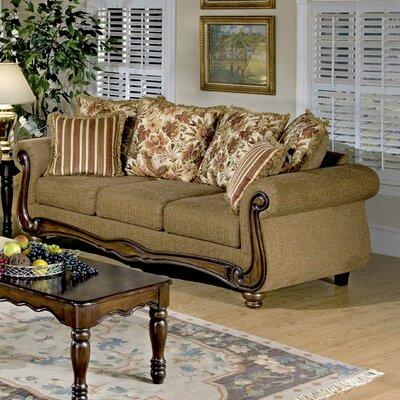 Tabatha Sofa Upholstery: Macy Chestnut