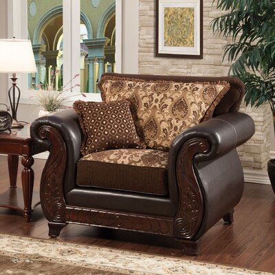 Chandra Luxe Armchair MLB Team: Dark Brown