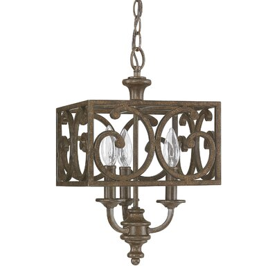 Juanita 3-Light Foyer Pendant
