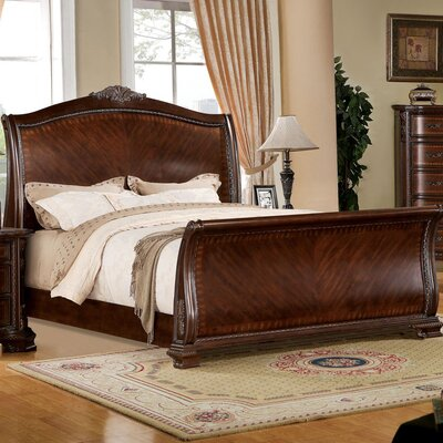 Adela Sleigh Bed Size: Queen