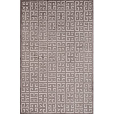 Edith Ivory/Brown Area Rug Rug Size: 5 x 76