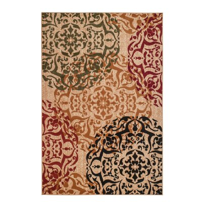 Janis Beige Area Rug Rug Size: 410 x 72