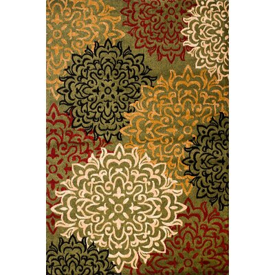 Janis Hand-Woven Area Rug Rug Size: 38 x 5