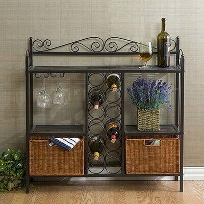 Clarkstown Scrolled Bar with Wine Storage