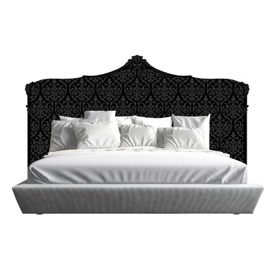 Bartlett Panel Headboard Size: King, Color: Black