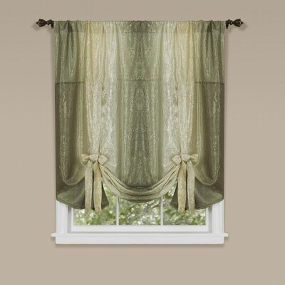 Aldreda Window Tie Up Shade Color: Sage