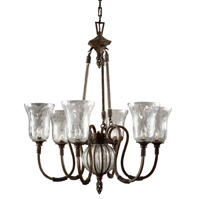 Lorie 6-Light Shaded Chandelier