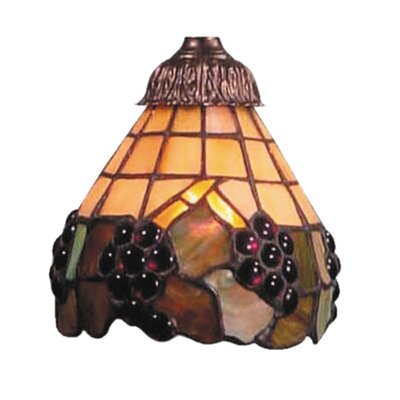 Antoinette Fruit Design 6 Glass Bowl Ceiling Fan Fitter Shade