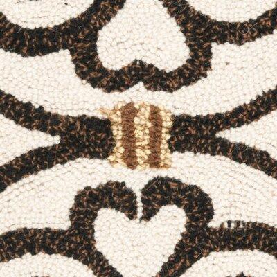 Brayton Ivory/Iron Gate Area Rug Rug Size: Rectangle 18 x 26