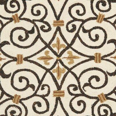 Brayton Ivory/Iron Gate Area Rug Rug Size: Rectangle 39 x 59