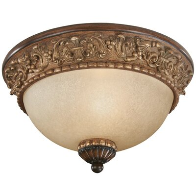 Winnie 1-Light Flush Mount Size: 6.25 H x 11.5 Diameter