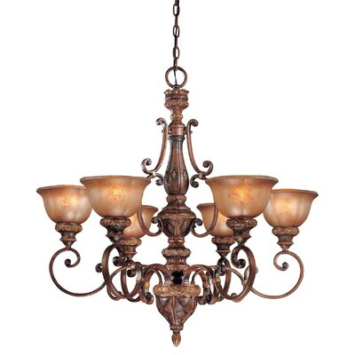 Dee 6-Light Shaded Chandelier