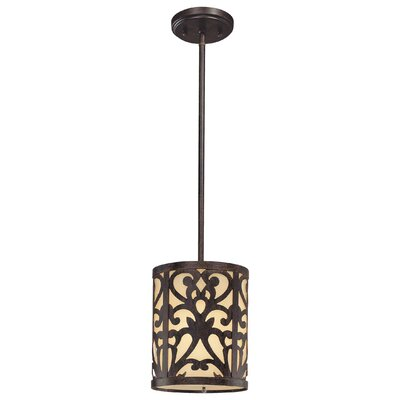 Aegean 1-Light Mini Pendant Color: Iron Oxide