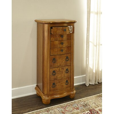 Darmstadt Jewelry Armoire with Mirror