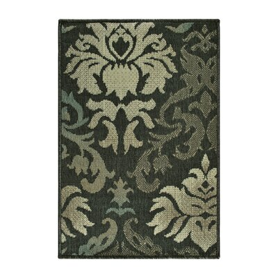 Buchanon Buchan Indoor/Outdoor Brown/Beige Area Rug Rug Size: Rectangle 2 x 3
