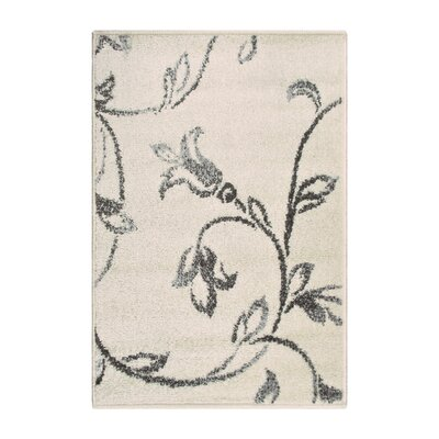 Breese Vine Ivory Area Rug Rug Size: Rectangle 2 x 3