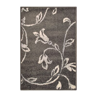 Breese Vine Black Area Rug Rug Size: Rectangle 2 x 3
