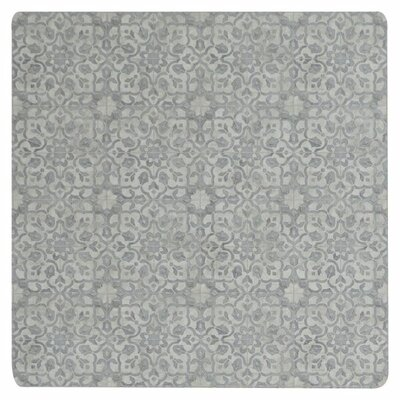 Freestyle� Pewter Area Rug Rug Size: Square 4