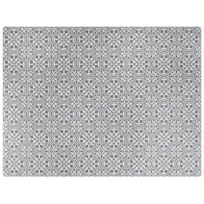 Freestyle� Deco Wrought Iron/Beige Area Rug Rug Size: Rectangle 6 x 8