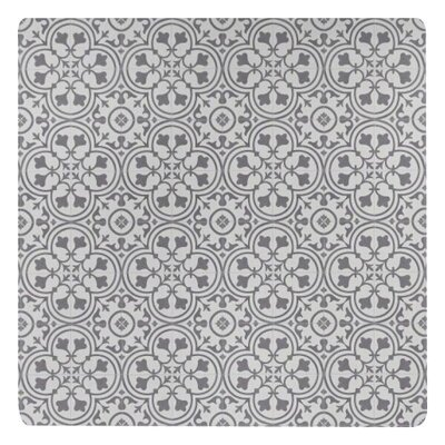 Freestyle� Deco Wrought Iron/Beige Area Rug Rug Size: Square 4