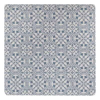 Freestyle� Deco Steel/Beige Area Rug Rug Size: Square 4