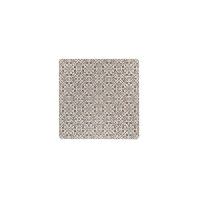 Freestyle� Deco Brick/Beige Area Rug Rug Size: Square 4
