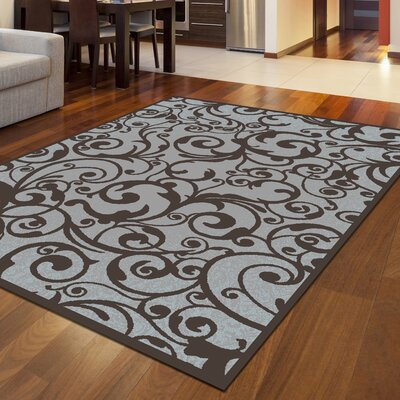 Aberdeenshire Gray Area Rug Rug Size: Rectangle 710 x 106