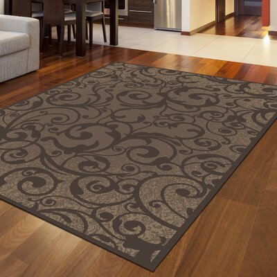 Aberdeenshire Brown Area Rug Rug Size: Runner 22 x 77