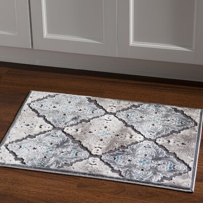 Bradley Junction Medallions Gray Area Rug Rug Size: Rectangle 2 x 3