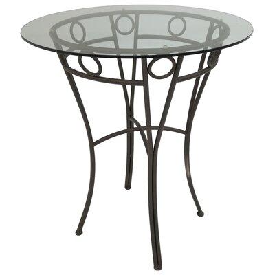 Campos Pub Table Color: Classic Bronze, Size: 40.37 H x 36 W x 36 D
