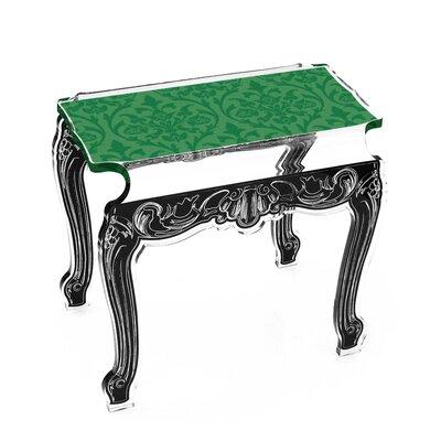 Marley Acrylic Side Tables Finish: Green