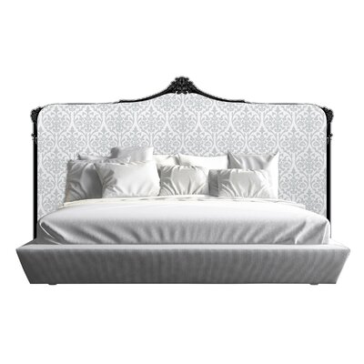 Bartlett Panel Headboard Size: California King, Finish: White