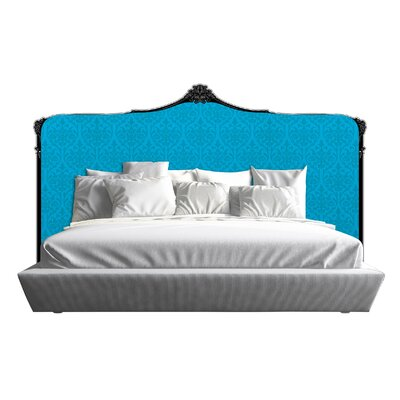 Bartlett Panel Headboard Size: California King, Finish: Blue