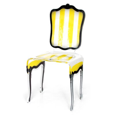 Snedeker Side Chair Upholstery: Yellow