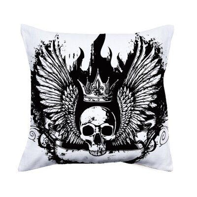 Marlee Skull Throw Pillow