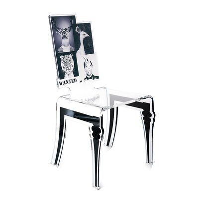Upton Cheyney Animal Portraits Side Chair